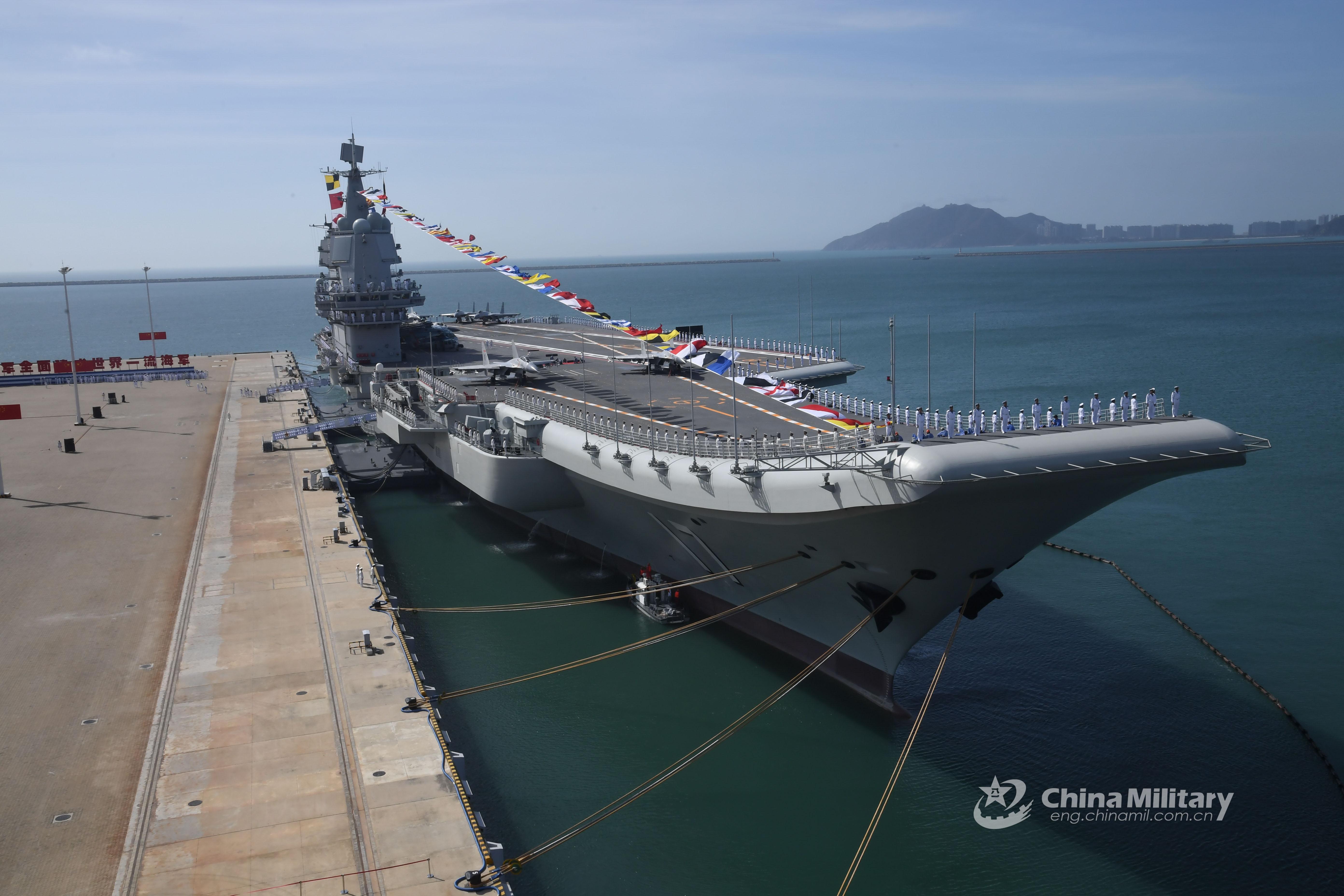 解放军海军不必与美国海军相当也足够使用,统一之后再寻求新战略