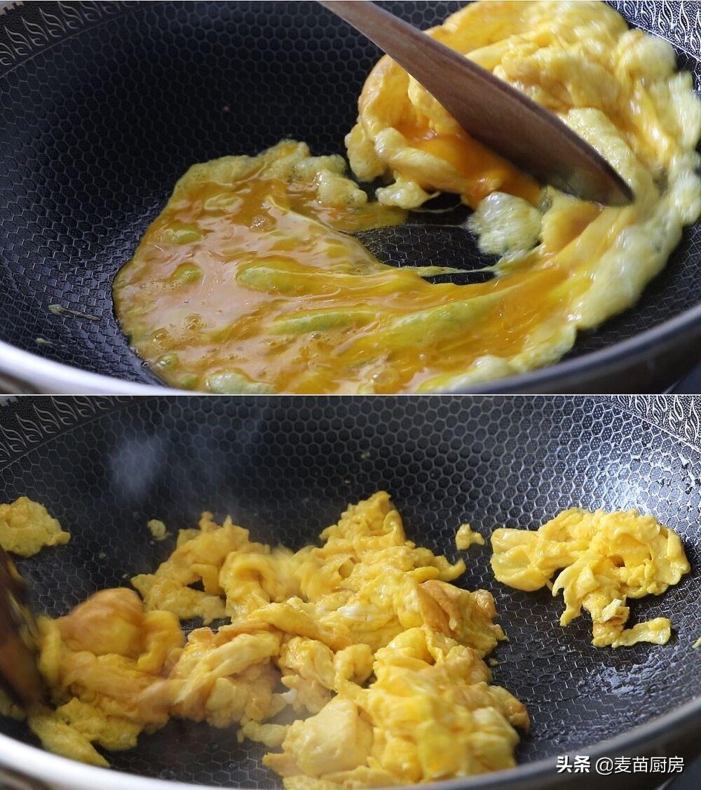 菠菜炒鸡蛋,想不到这么一做,如此快速好吃,吃过1次就忘不了