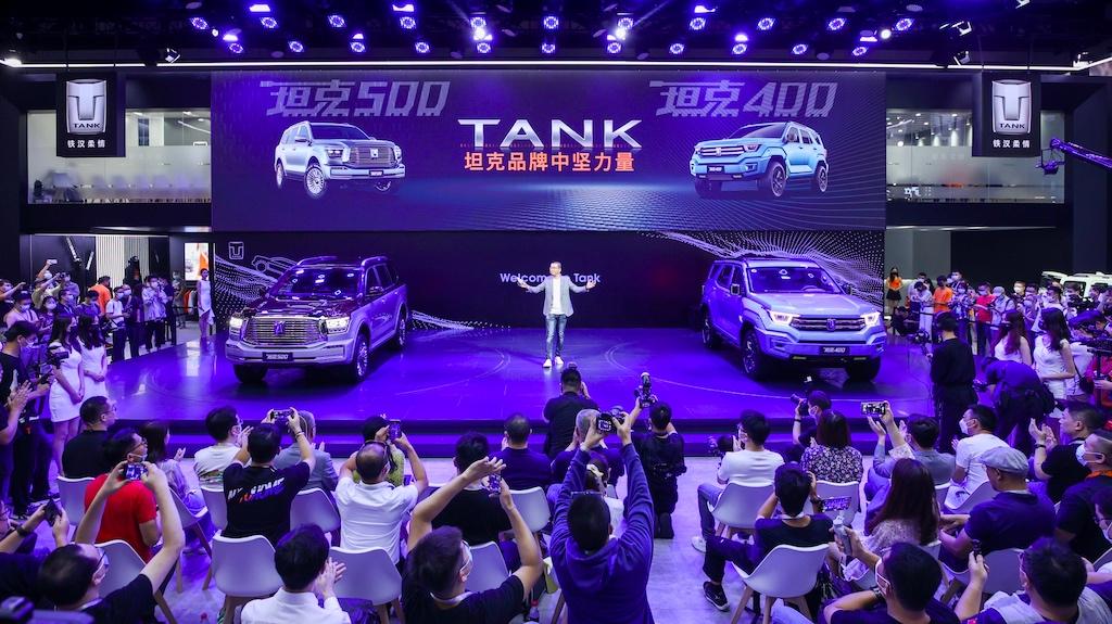 双车首秀潮玩集结 坦克品牌重塑品类新格局