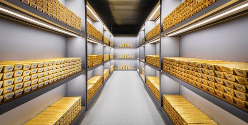 1250吨黄金已被运出美国,数千吨黄金或流入中国,或清零美债