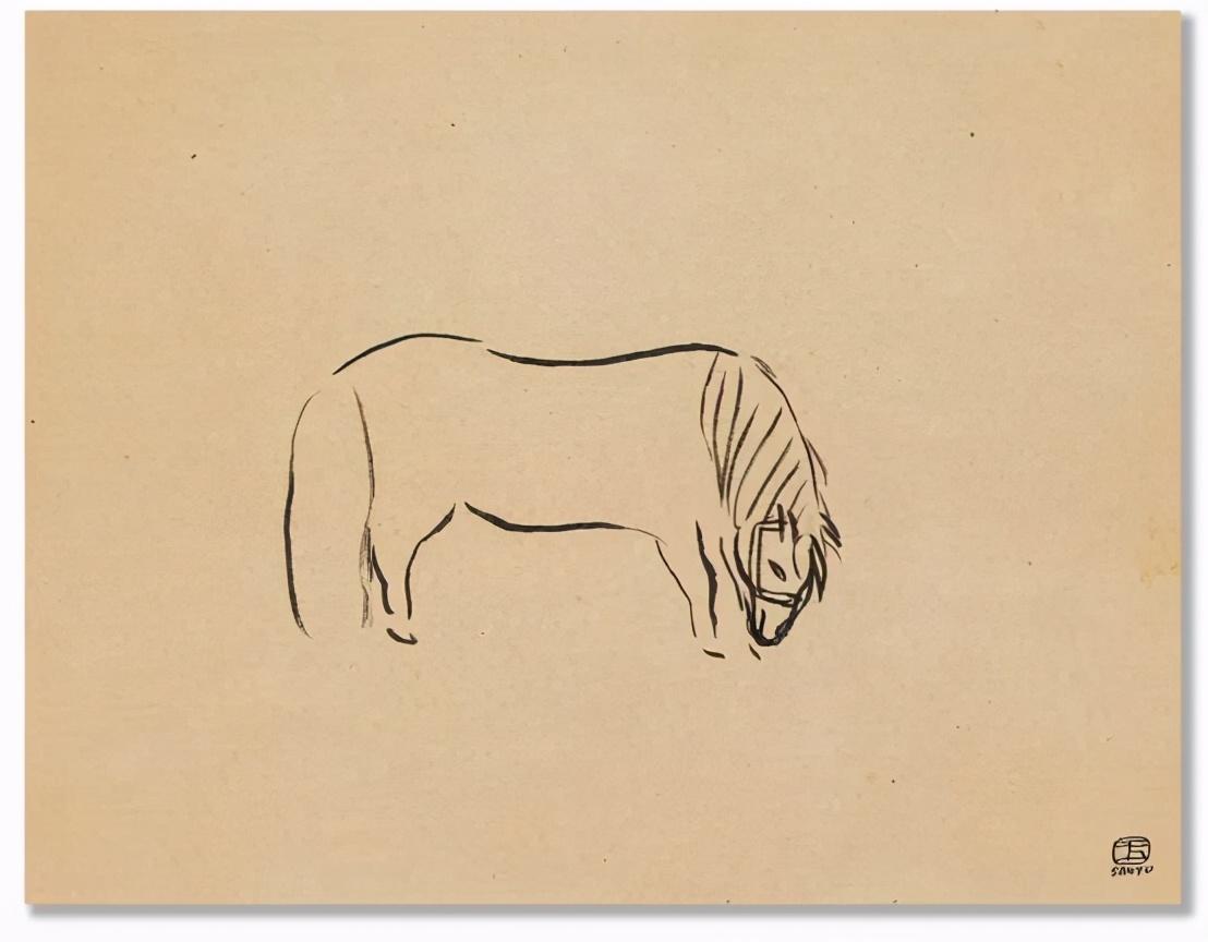 常玉《群马》2.07亿元创纪录,受艺术家青睐的马,为什么那么贵?