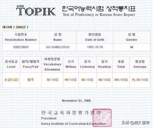 2020年韩国TOPIK考试要开始准备啦!千