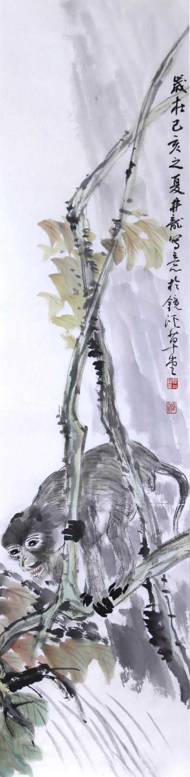 推荐丨杨井龙绘画作品选(上)