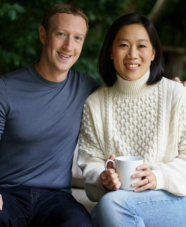 扎克伯格华裔妻子露面,5000亿身价长相似路人,从难民逆袭当阔太