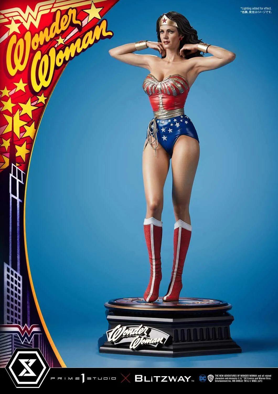 这款70年代的神奇女侠雕像也太漂亮了