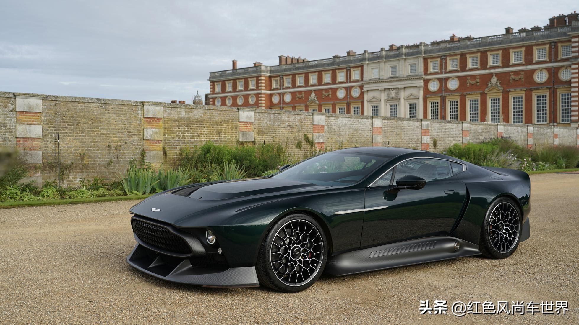 全球唯一一部的阿斯顿·马丁 Victor 超级跑车