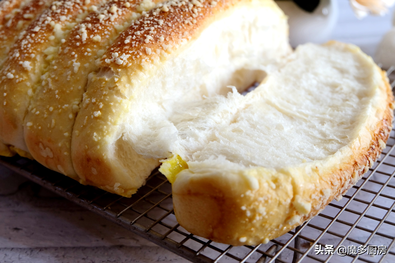 孩子想要吃面包,妈妈亲自动手做 美食做法 第11张