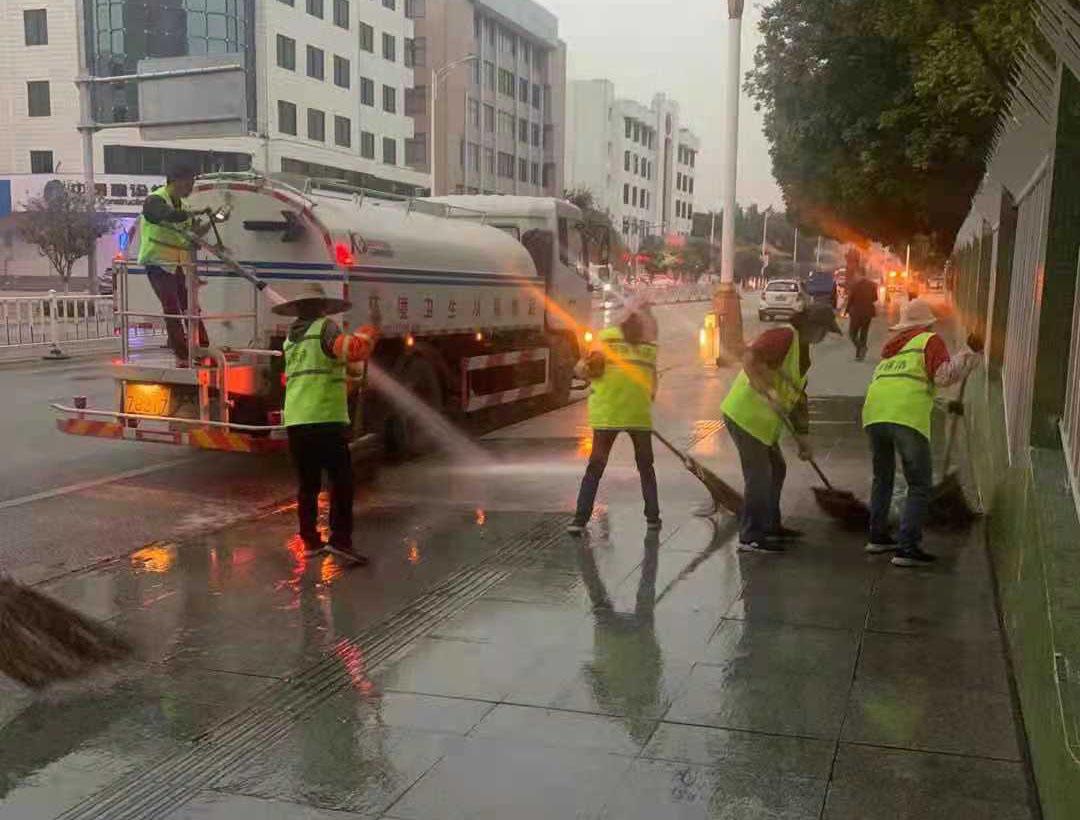 科暉集團智慧環衛一體化演練活動在廣東省肇慶市順利開展