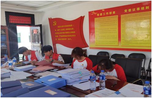 西安培华学院巾帼志愿服务队柞水普法进行时