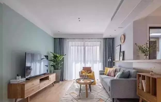 30款客厅装修效果图,电视墙、电视柜和茶几太配了