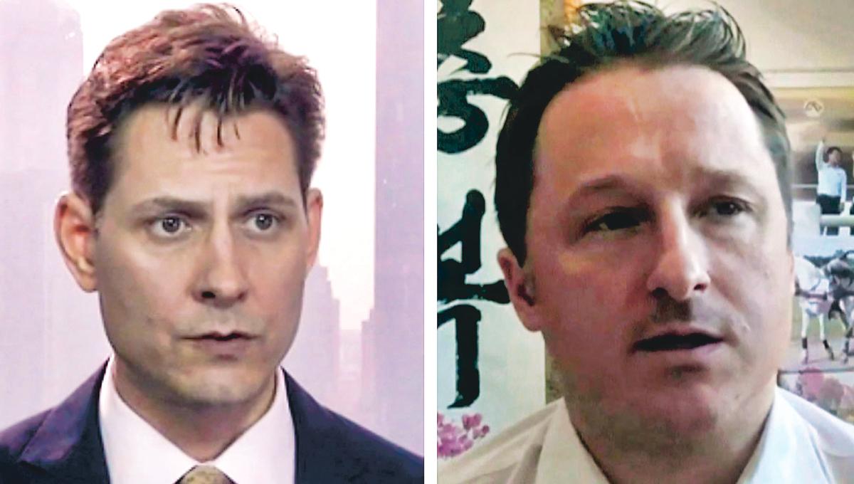 两名间谍认罪回国后,加拿大情报部门说了四个字,网友:不打自招