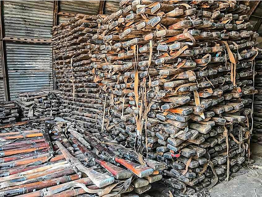 非洲国家库存二战原装卡宾枪返销美国,每支售价999美元起