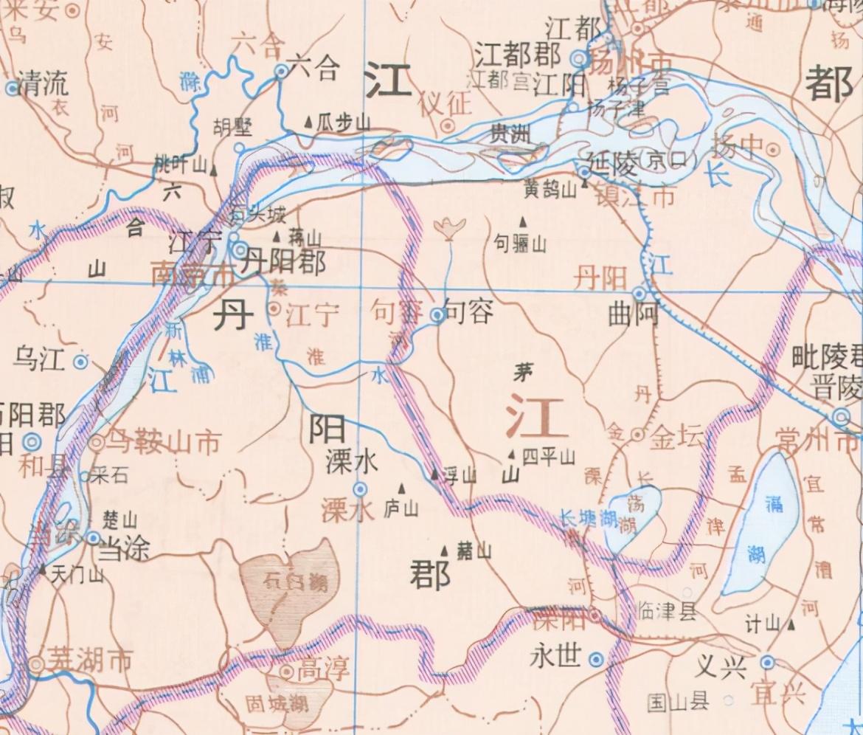 安徽、江苏都有丹阳湖和丹阳镇,江苏还有丹阳市,这三者有何联系