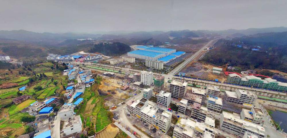 贵州黔南平塘县的这个地方,曾是老县城,如今是一个镇