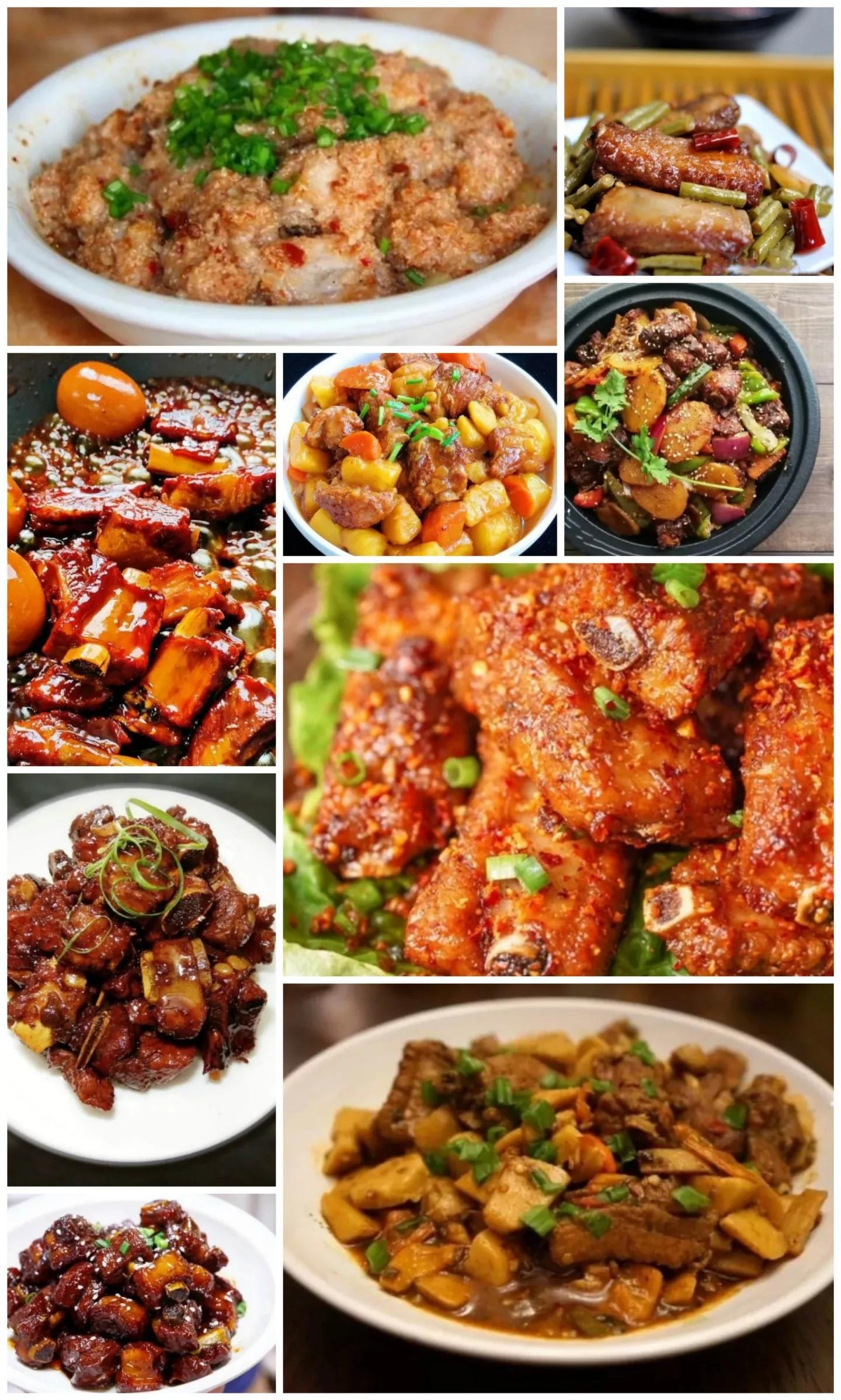 10种排骨的做法,快来进来看看 美食做法 第1张