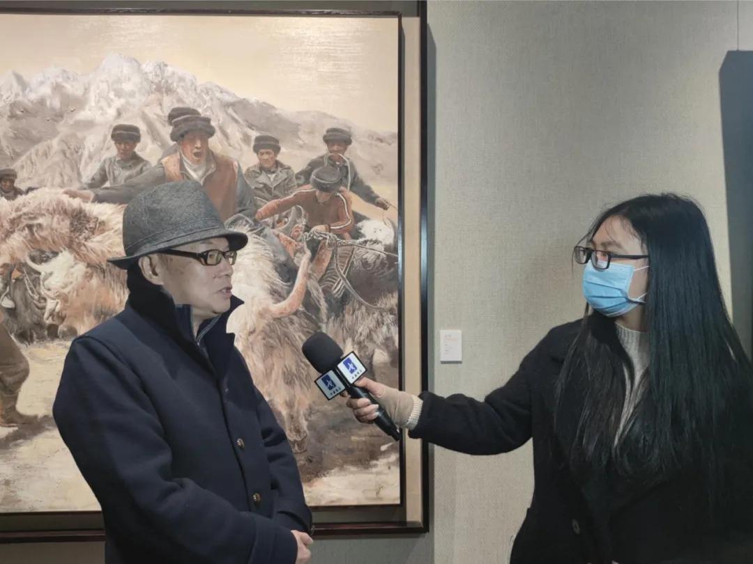 「展览现场」追梦――贾文广作品展正式揭幕
