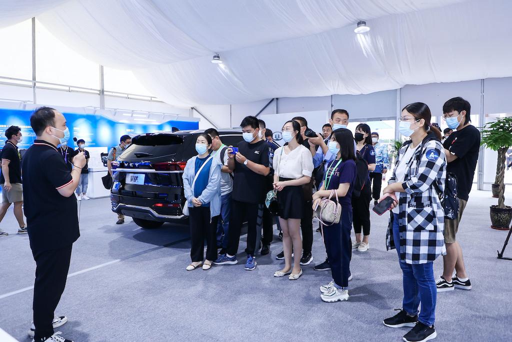 科技长城智享出行 长城汽车携多项智能化成果亮相2021数博会