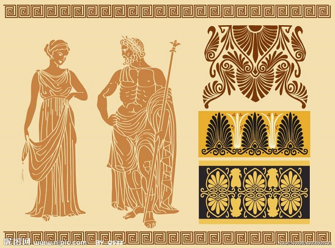 大海蓝天之间的浪漫圣地,古希腊人对于服装有何讲究?