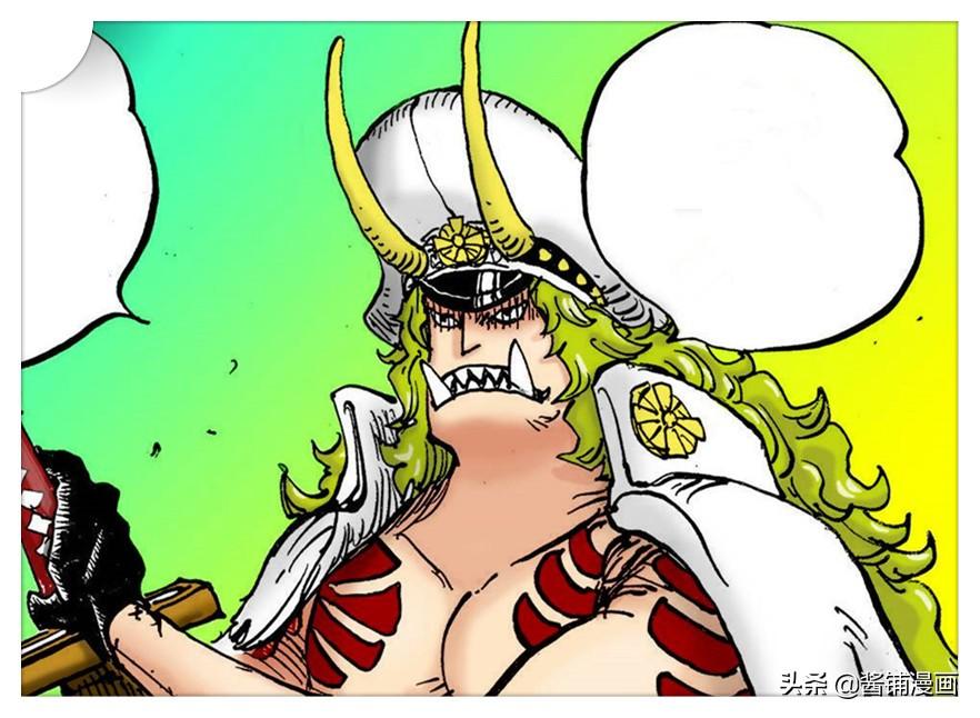 海賊王998話:遠古三角龍形態佐佐木撞飛弗蘭奇,艾尼在聽音樂