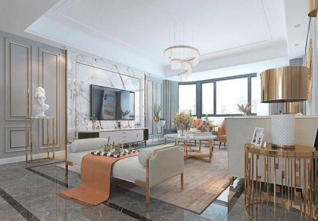 170平美式风三居室,精致又大气,一进门就能感受到美式的魅力