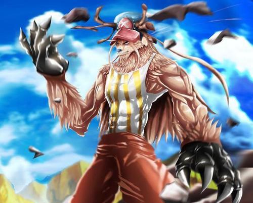 令人忌憚,海賊王中被當成為怪物的角色,喬巴變成怪物的時間變長