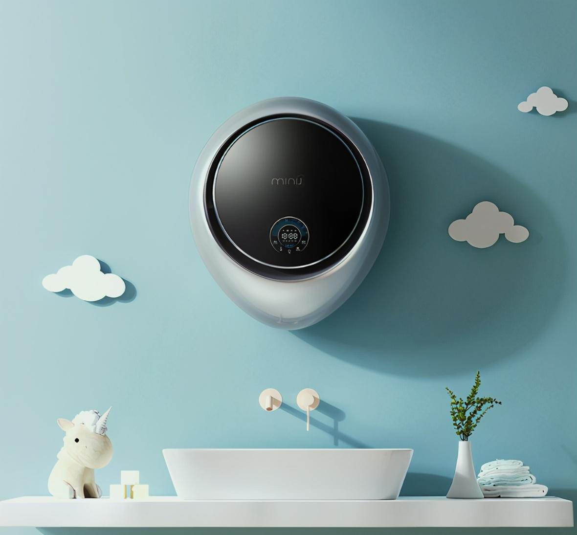以爱为名:为宝宝准备了一款智能壁挂洗烘一体机