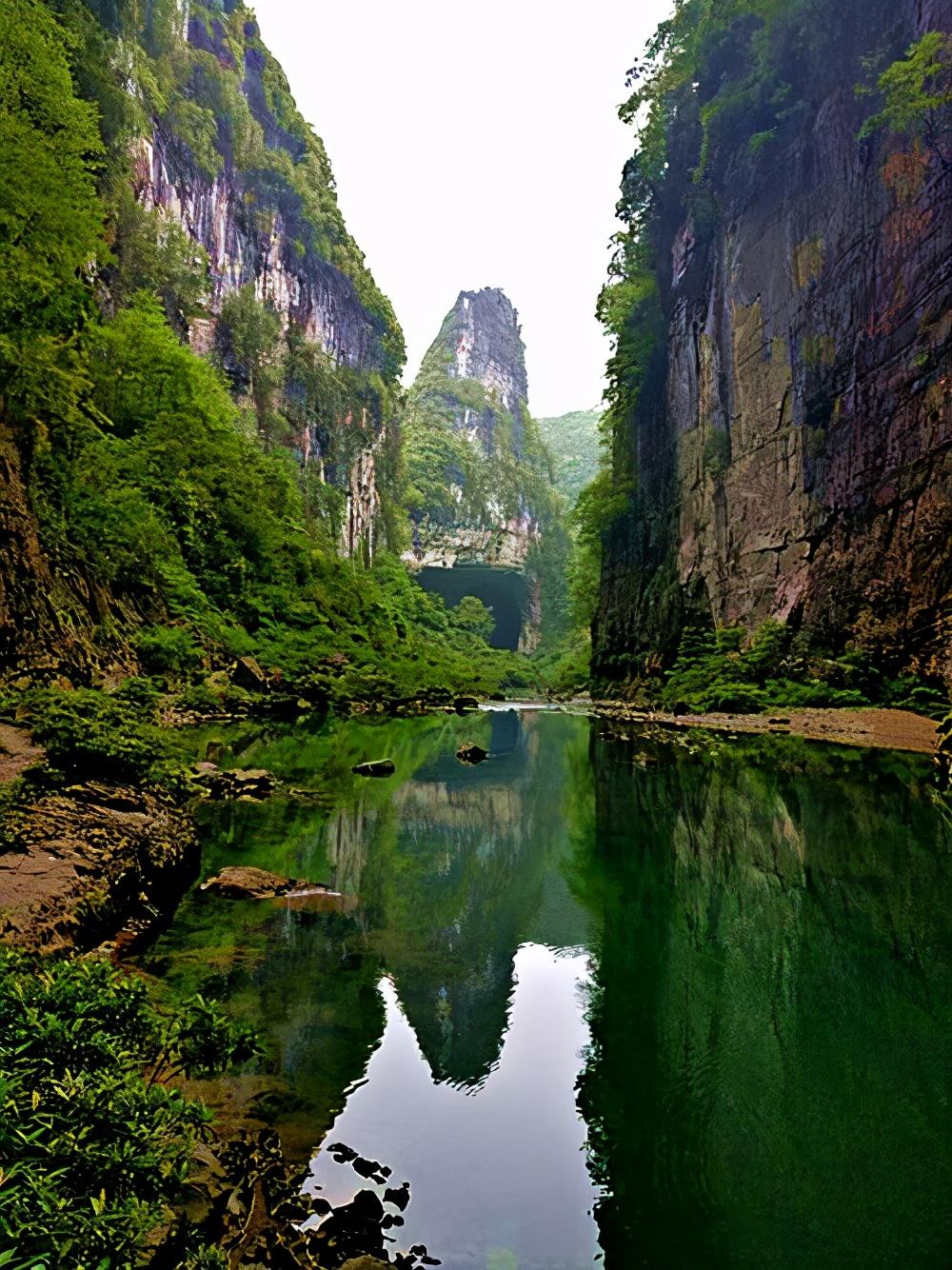2021五一热门旅游景点惠水海里天生桥、燕子洞:贵州神奇的岩溶景观,尚未开发