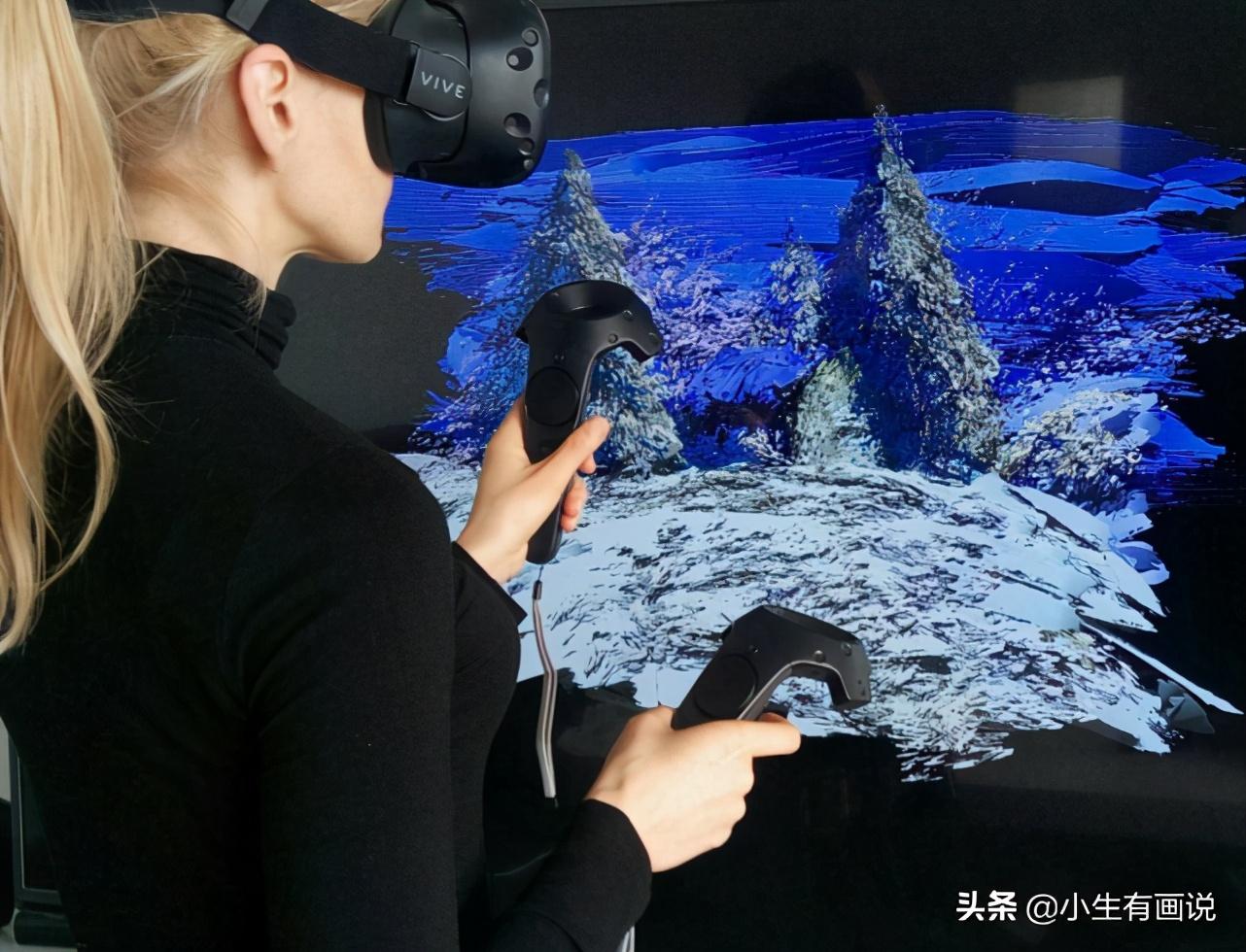 不用纸和笔也可以绘画,戴上VR,绘画的一条崭新道路