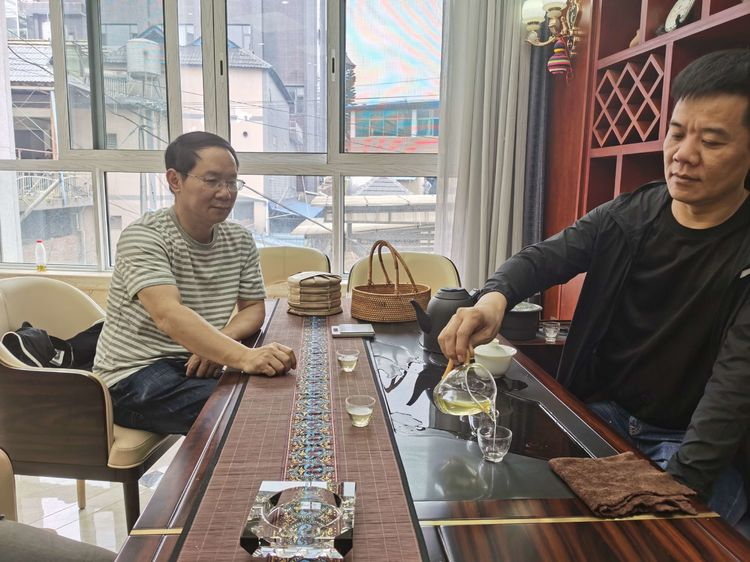 三月赴滇访茶,只为那一口清香回甜/记茶人陈映生老师