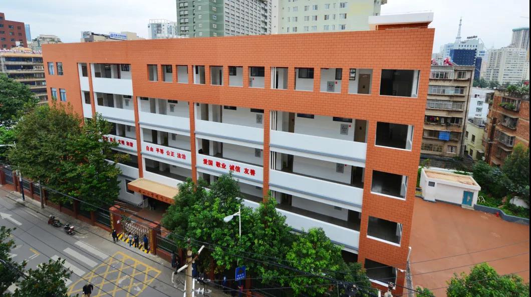 历经八十多年低调发展,昆明韶山小学如今已有三大校区