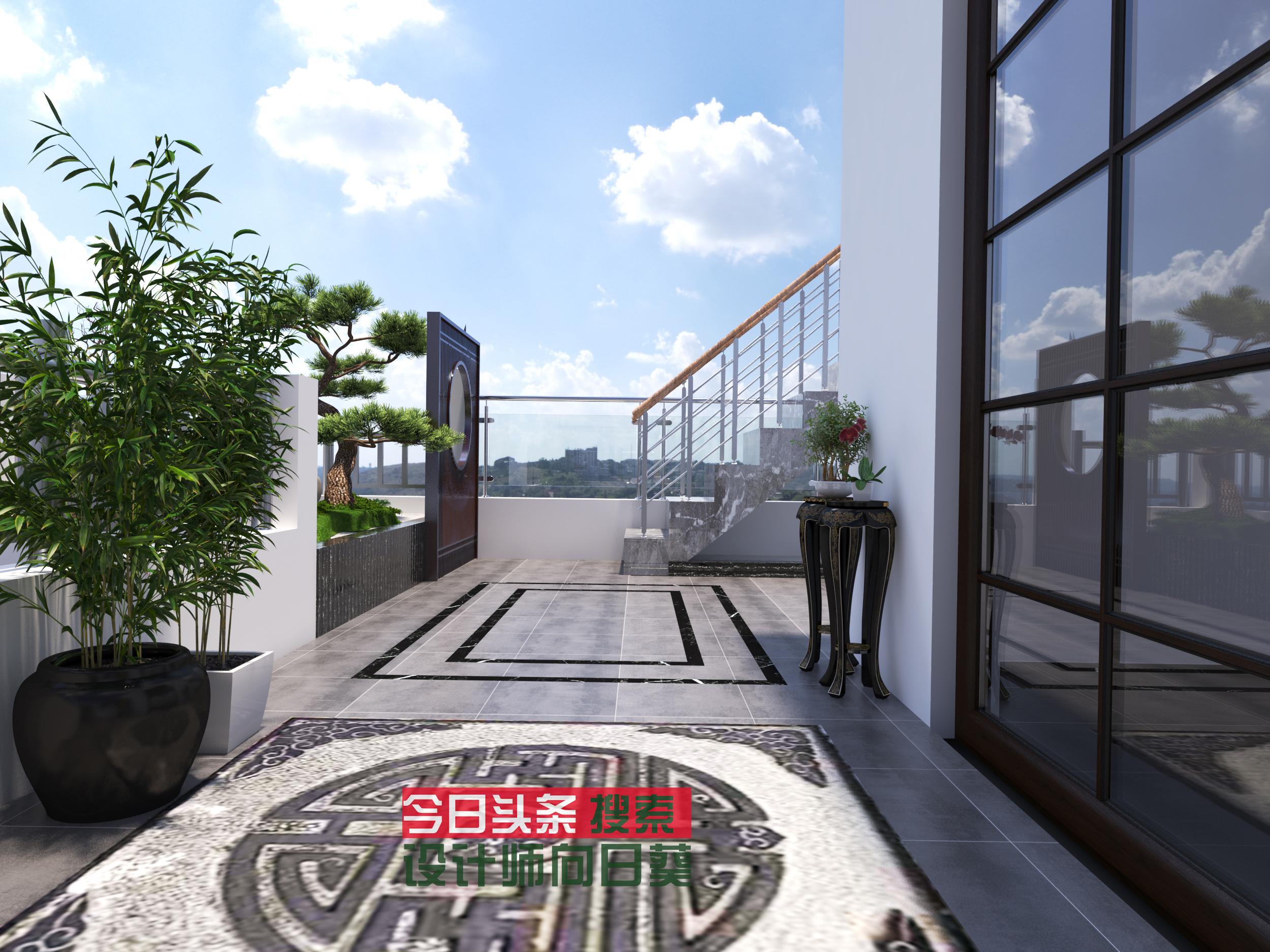 20多平的露台设计后也可以这么漂亮,几百元的设计费究竟值不值