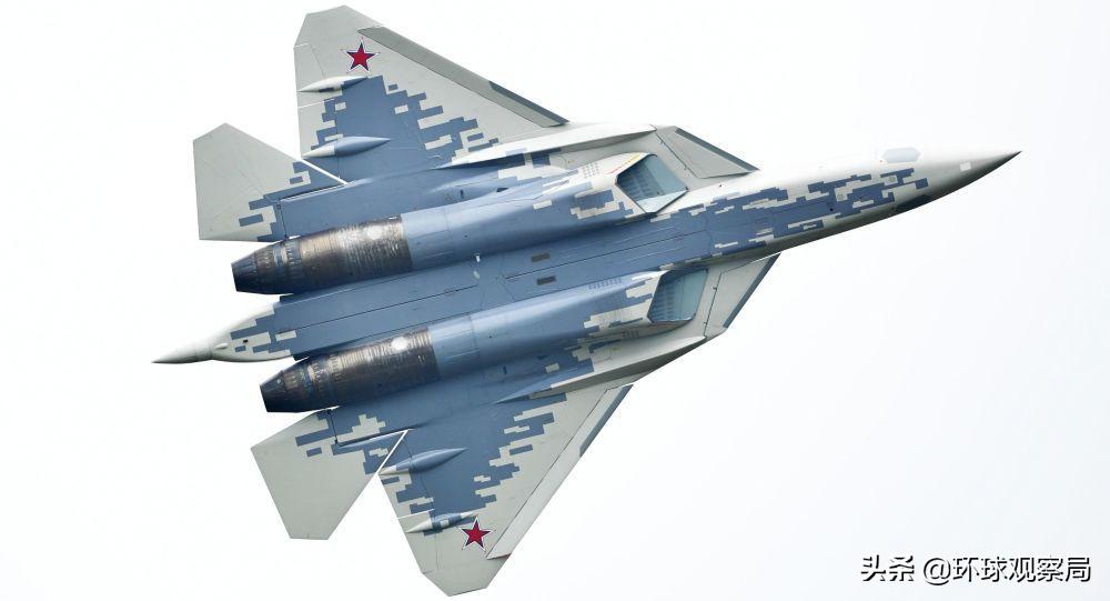 第一次!俄军使用苏-57和苏-35S进行模拟空战。他们会被苏-35S干掉吗?