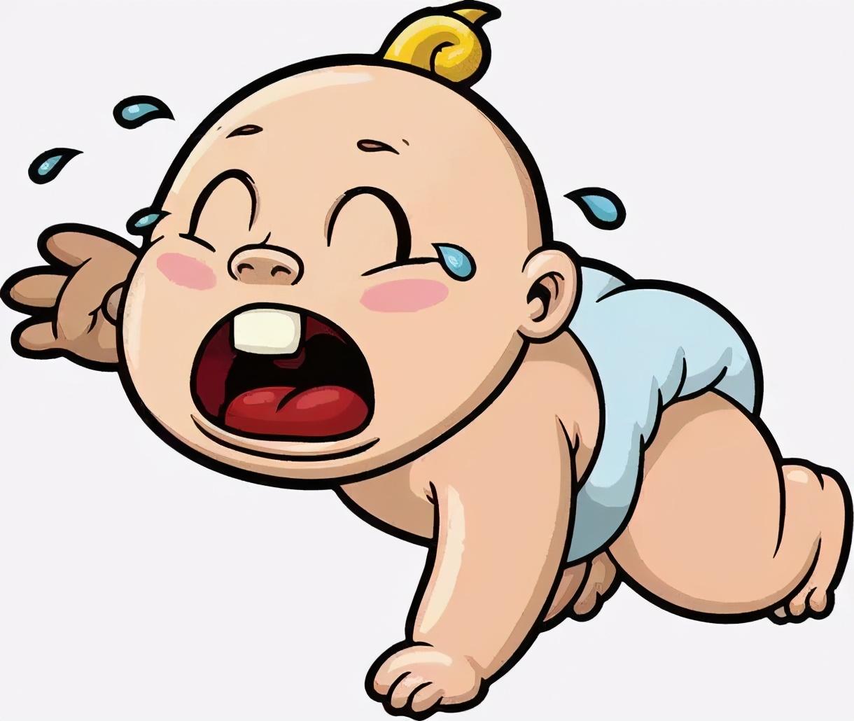 宝宝一直哭不停怎么办?教你一招,10秒搞定