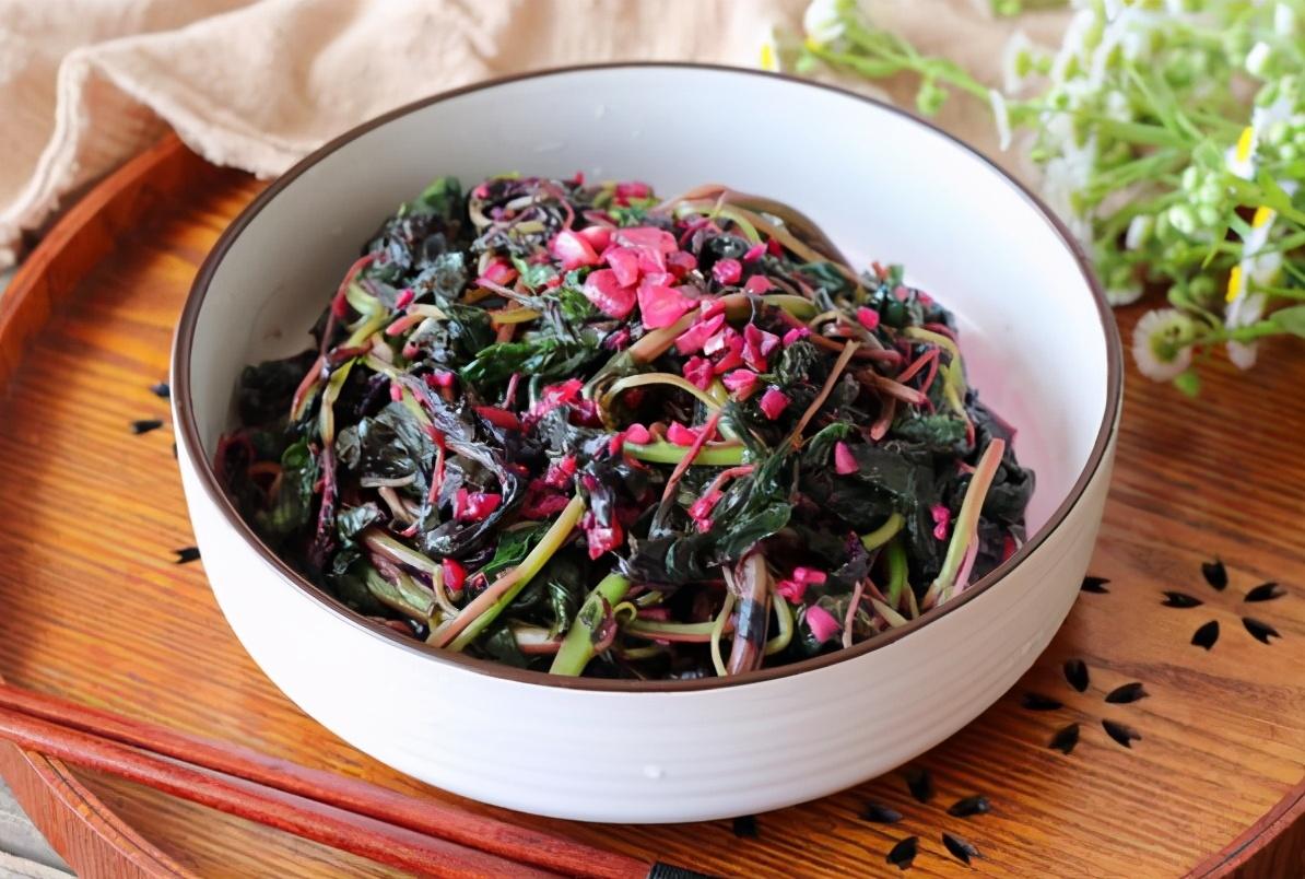 炒苋菜,不要直接下锅炒,多做一步,好吃又健康,分享做法 美食做法 第6张