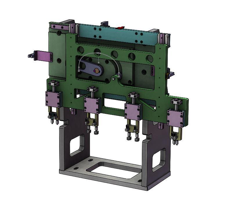 vacuum pad 02并联转移机构3D图纸 STEP格式