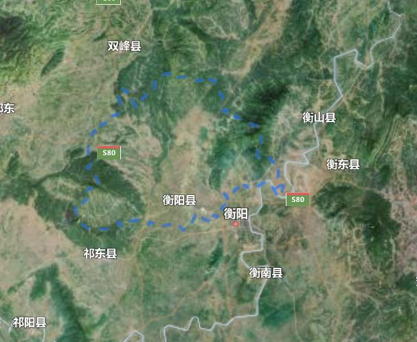 湖南省一个县,市县同名,总人口超100万