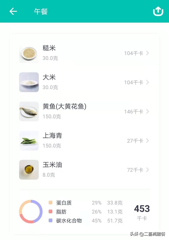 营养师的一天的减脂三餐,补脾养胃的糖醋大黄鱼做法来了 减肥菜谱做法 第7张