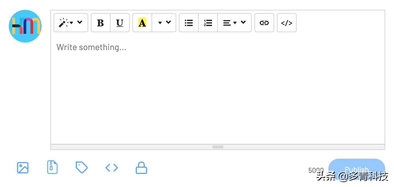 Kunming.io发布新特色:发布框添加所见即所得编辑器