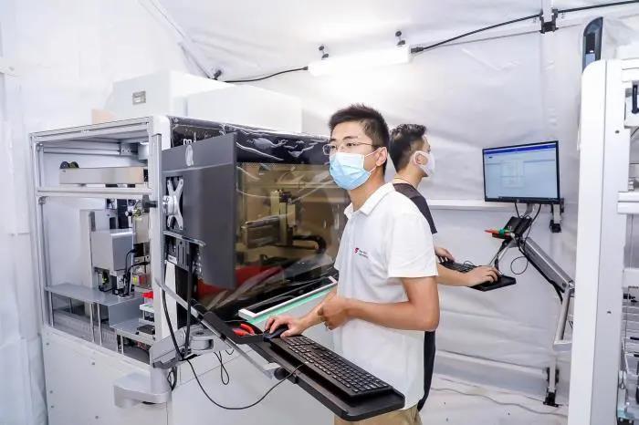 4.5小时!气膜方舱实验室建设提速,博德维专利技术显神通