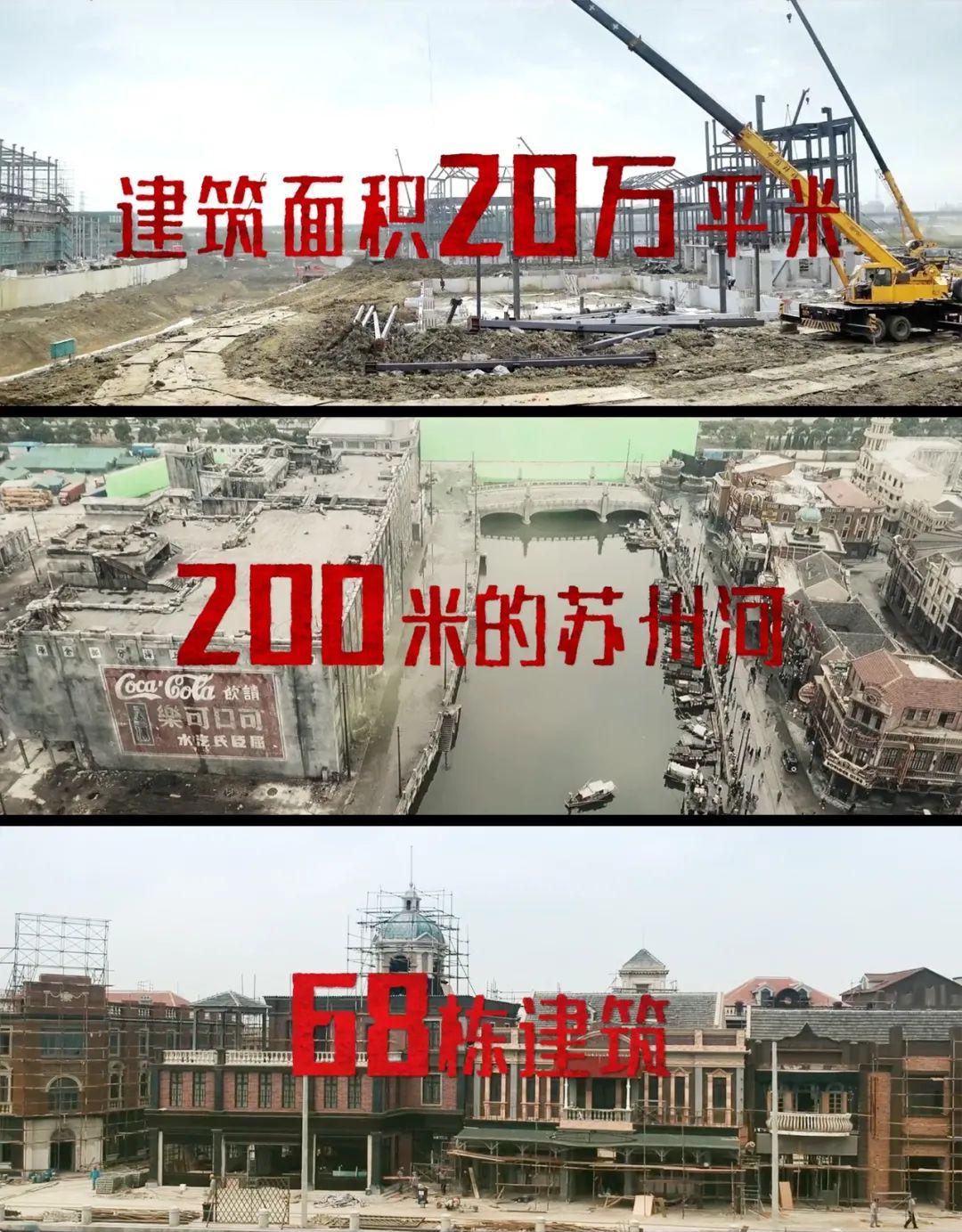 《八佰》花了5.5亿建了68栋楼,就是没花钱请流量……
