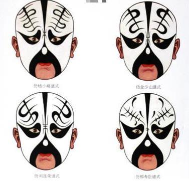 黑色脸谱代表什么(京剧脸谱代表人物10个)