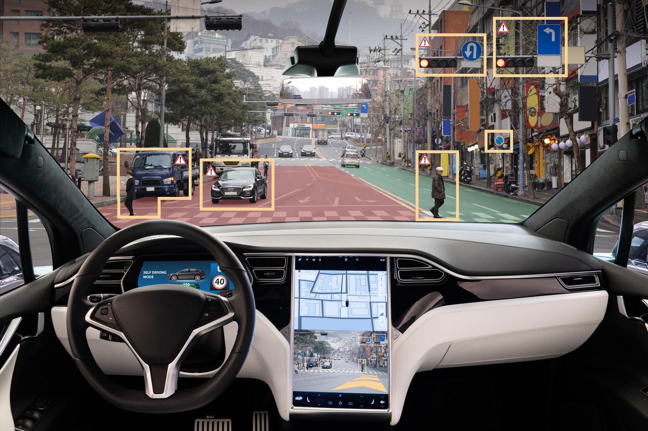 上季度全球卖出350辆L2自动驾驶汽车