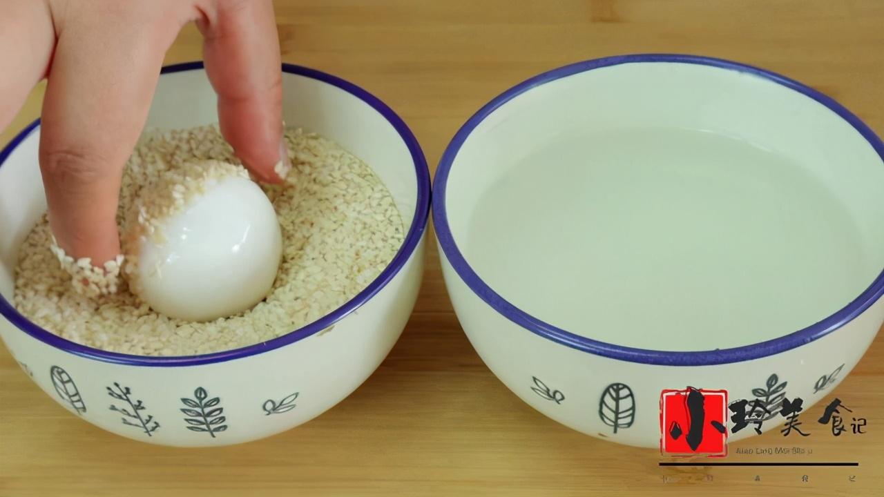 自己在家也能做糯米麻團,外酥裡糯,不開裂不回縮,童年的味道