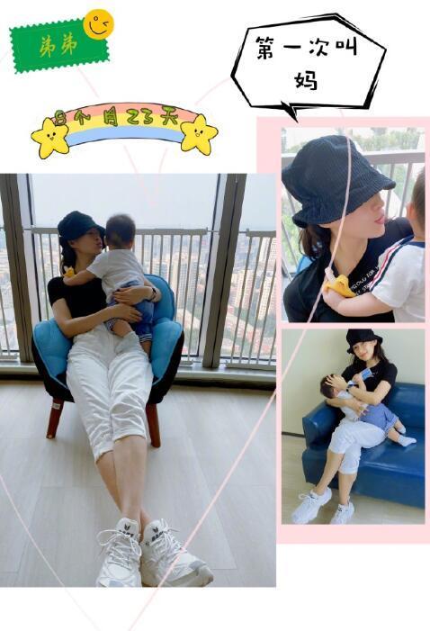 汪峰晒全家福为儿子庆生,1岁儿子正脸首曝光,与爸爸一模一样
