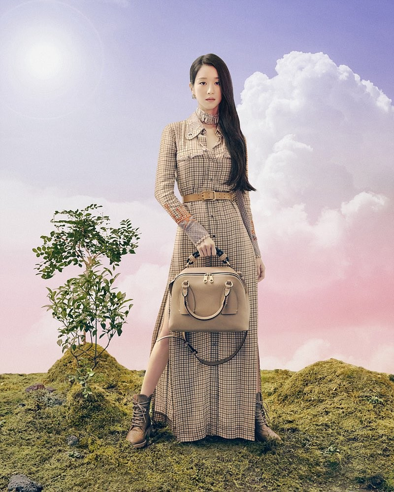 徐睿知最新品牌画报公开!女神降临展现法式优雅