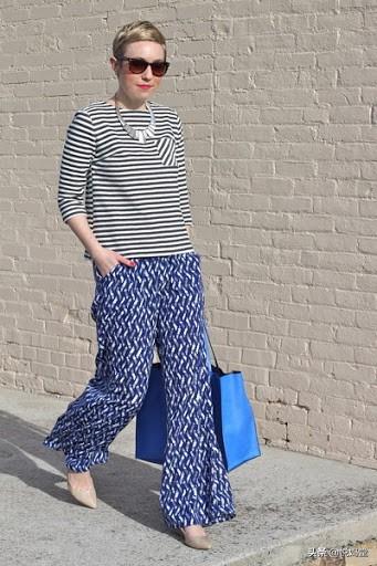 显瘦又时尚的夏日阔腿裤造型,妈妈们学起来