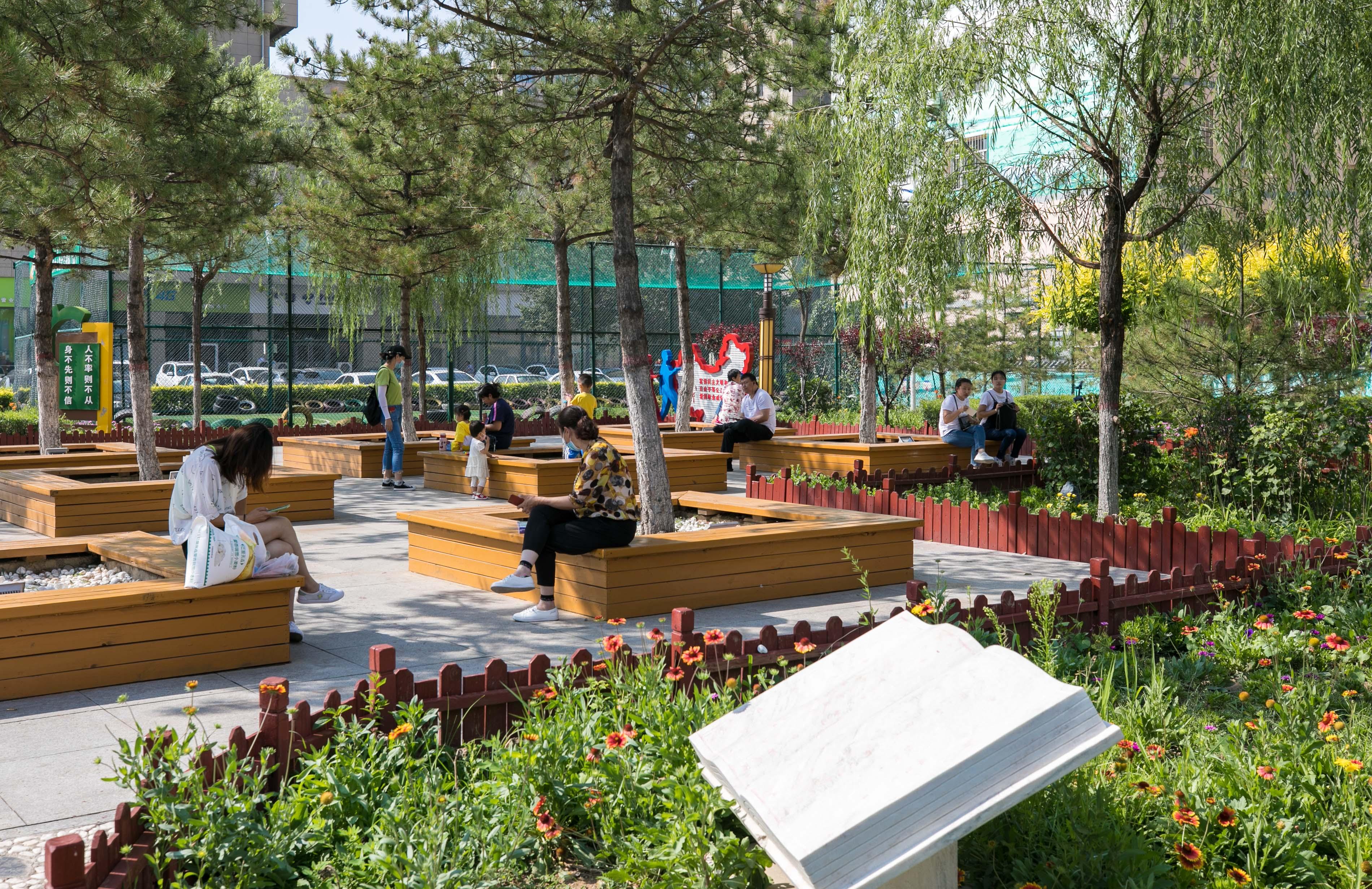 """呼和浩特市玉泉區:""""口袋公園""""讓市民樂享生活"""