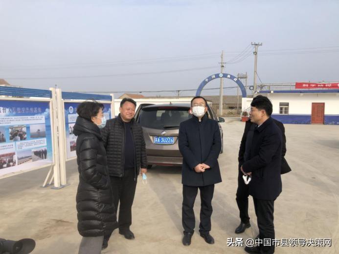 省农业厅副厅长杨天水一行来响水督导农村疫情防控和长江禁渔工作