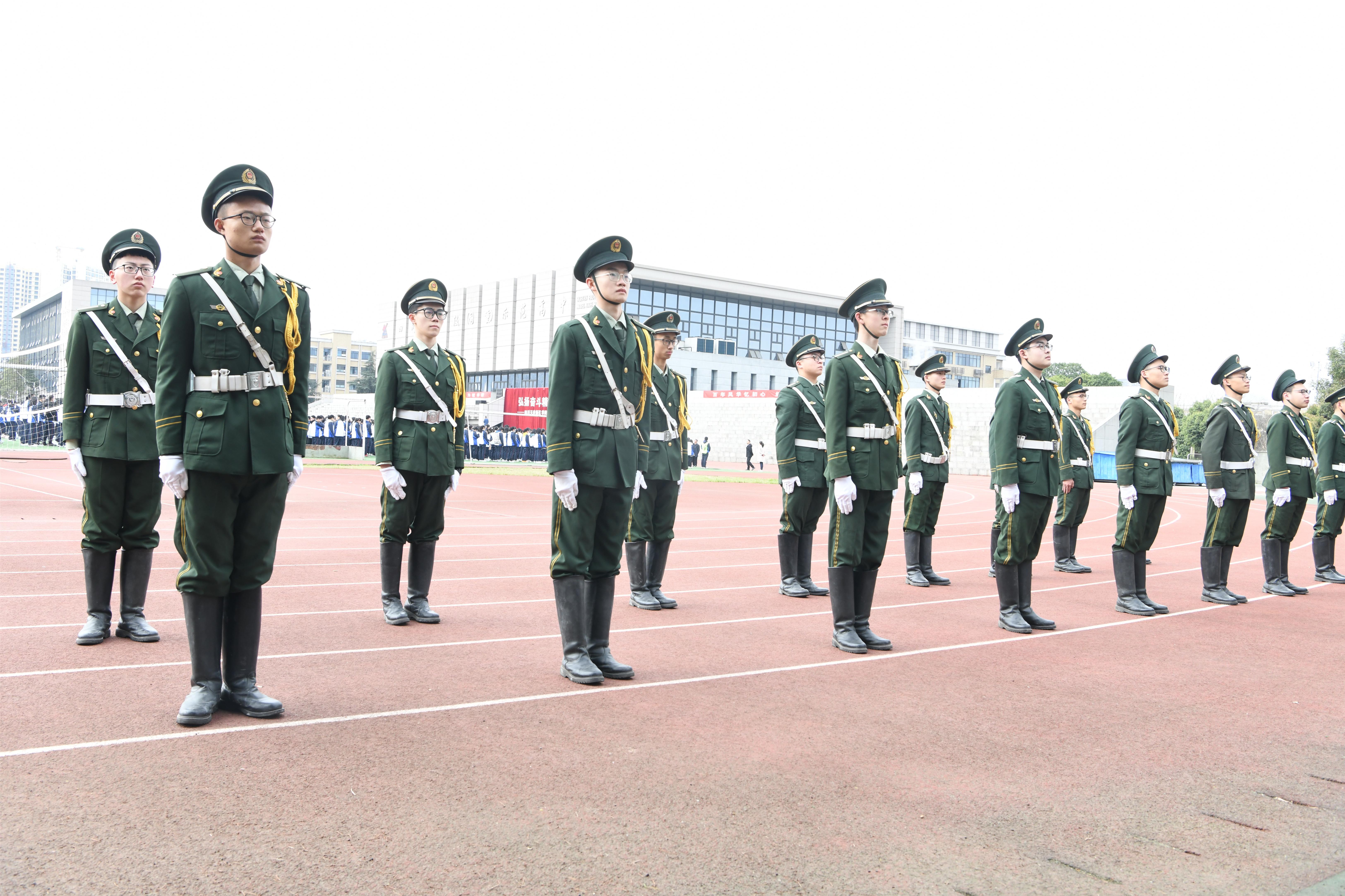 华阳中学举行2020-2021学年度下期开学典礼
