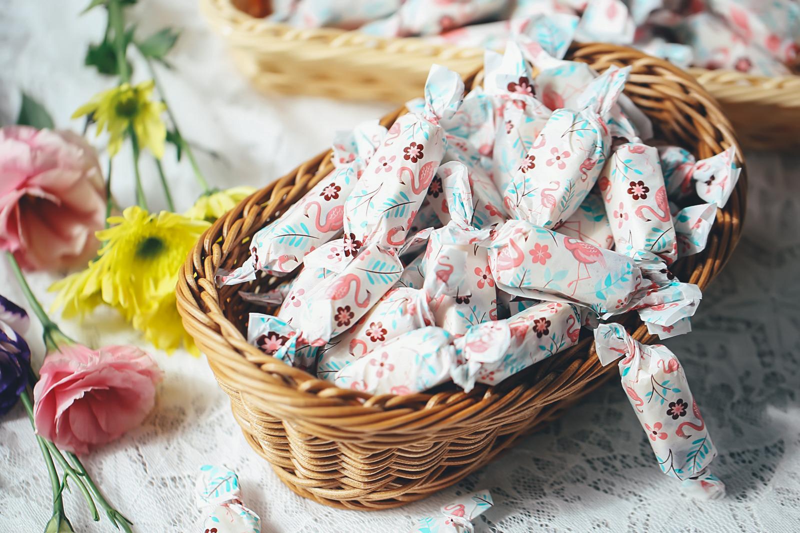 牛轧糖还是自己做的好吃,真材实料,甜在舌尖,甜在心里